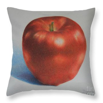 Throw Pillow featuring the painting Gala by Pamela Clements