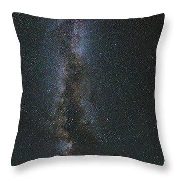 Galactic Alignment Throw Pillow