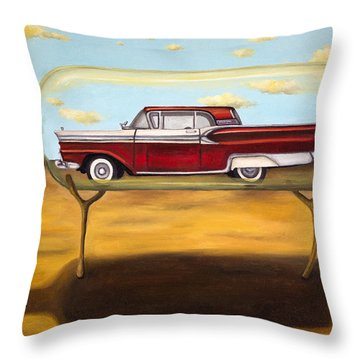 Galaxie In A Bottle Throw Pillow