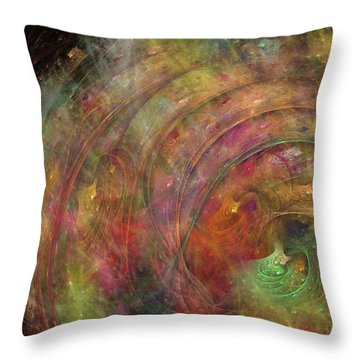 Galaxy 34g21a Throw Pillow by Betsy Knapp