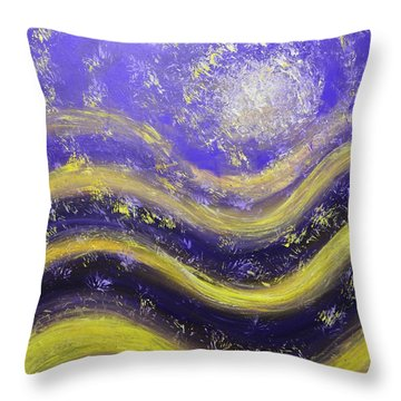Galaxy Of The Mind Throw Pillow by Christopher Vidal