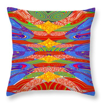 Galaxy Transit Union Ufo Docking Station Fantasy 2050 Art Background Designs  And Color Tones N Colo Throw Pillow