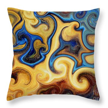Galaxy Unkown Throw Pillow by Michael Grubb