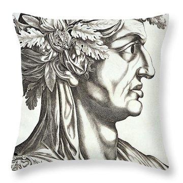 Galba Caesar  Throw Pillow