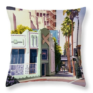 Los Angeles Throw Pillows