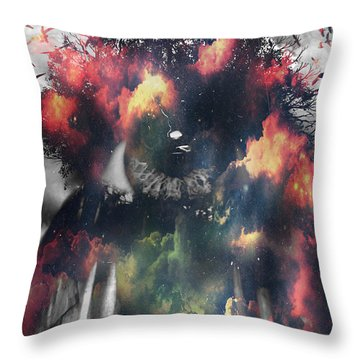 Galeyexis Throw Pillow