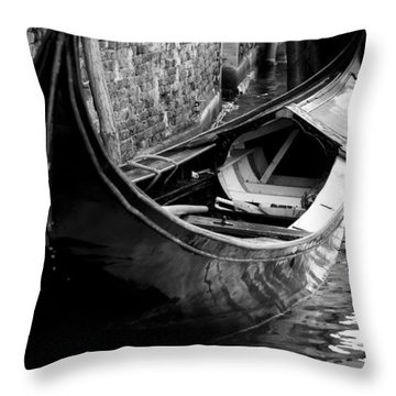 Galleggiante - Venice Throw Pillow by Lisa Parrish
