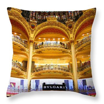 Galleries Laffayette  Throw Pillow