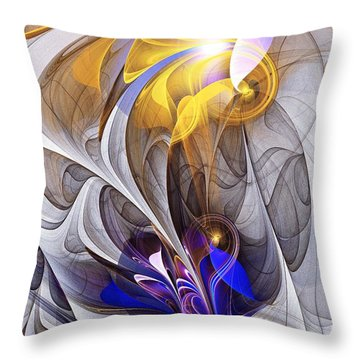Galvanized Throw Pillow