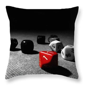 Game ... Just Begun Throw Pillow