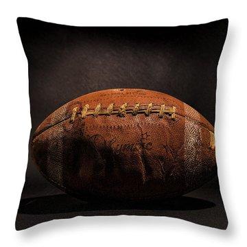Game Ball Throw Pillow