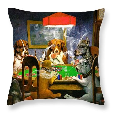 Game On 1 Throw Pillow