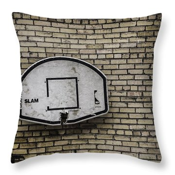 Game Over - Urban Messages Throw Pillow by Steven Milner