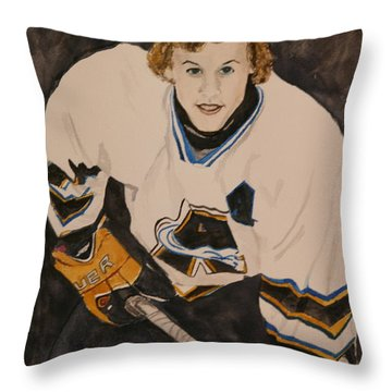 Game Time Throw Pillow by Betty-Anne McDonald