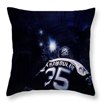 Gametime Throw Pillow by Marlon Huynh