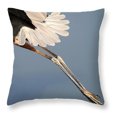 Gams Throw Pillow
