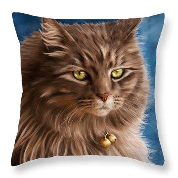 Gandalf Throw Pillow by Michelle Wrighton
