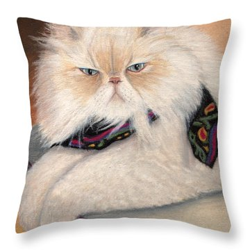 Gandolph's Scarf Throw Pillow