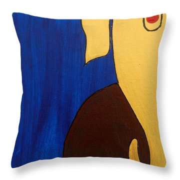 5 Ganesh Gajananaya Throw Pillow