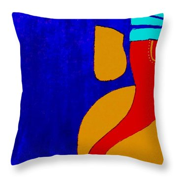 4 Ganesh Mangalmurti Throw Pillow