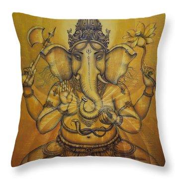 Hinduism Throw Pillows