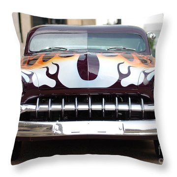 Gangster Car Throw Pillow by Jt PhotoDesign
