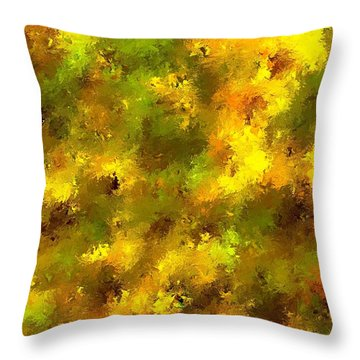 Garden Boss Throw Pillow