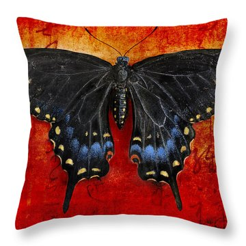 Garden Collection Throw Pillow by Elena Nosyreva