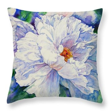 Garden Friends Throw Pillow