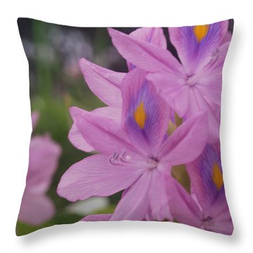 Throw Pillow featuring the photograph Garden Is Watching by Miguel Winterpacht