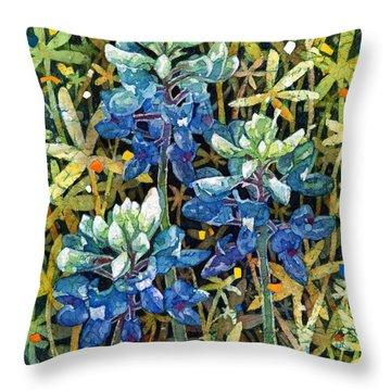 Garden Jewels II Throw Pillow
