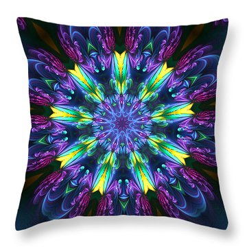 Garden Majestry Throw Pillow