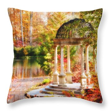 Garden Of Beauty Throw Pillow