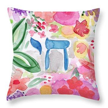 Garden Of Life Throw Pillow