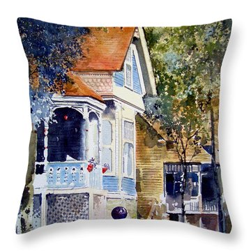 Garden Orb Throw Pillow