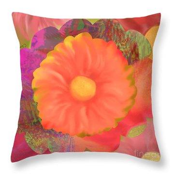 Garden Party IIi Throw Pillow