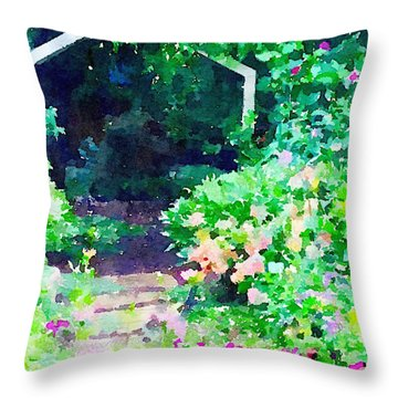 Pathway Throw Pillows