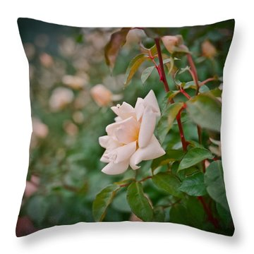 Garden Pride Throw Pillow by Linda Unger