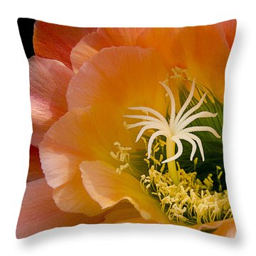 Garden Within Throw Pillow