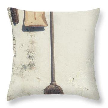 Gardening Throw Pillow by Joana Kruse
