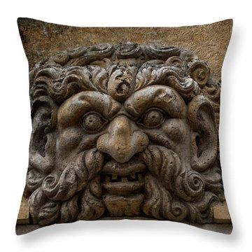 Gargoyle - Avignon - Provence Throw Pillow