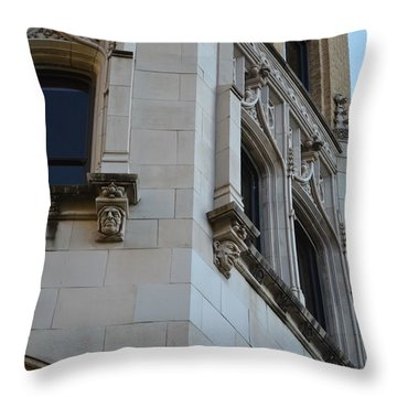 Gargoyles Throw Pillow