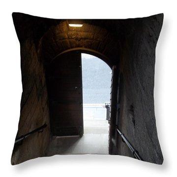 Garth Castle Door Throw Pillow