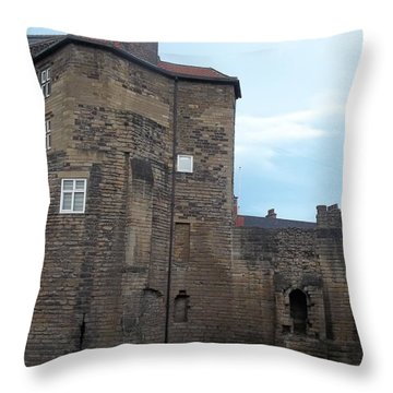 Garth Castle Throw Pillow