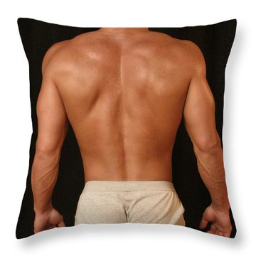 Gary 3 Throw Pillow