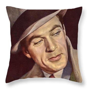 Gary Cooper Throw Pillow