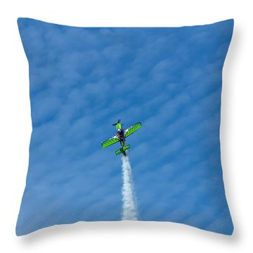 Gary Ward Taking His Mx2 To Great Heights Throw Pillow