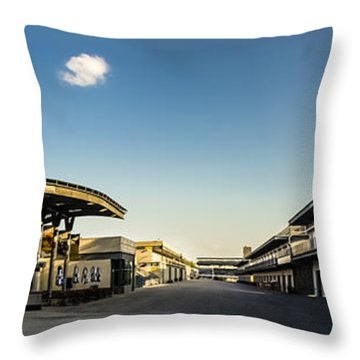 Gasoline Alley Throw Pillow
