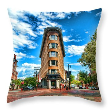 Gastown  Throw Pillow