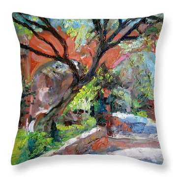 Gate Throw Pillow